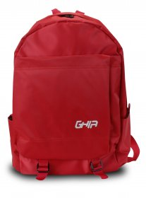 "Mochila Backpack GHIA 15.6"" Color Rojo 3 Compartimientos"