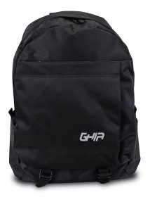 "Mochila Backpack GHIA 15.6"" Color Negro 3 Compartimientos"