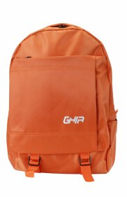 "Mochila Backpack GHIA 15.6"" Color Naranja 3 Compartimientos"