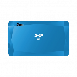 "Tablet GHIA A7 GTA7WFBLU - 7"" - A50 Quad Core - 1GB - 16GB - Cámara 0.3MP/ 2MP - Wi-Fi - Bluetooth - Android 9 Go Edition - Azul"