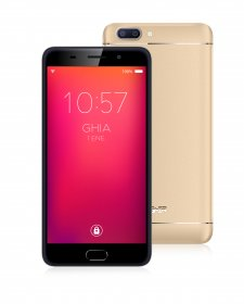 "Smartphone GHIA Zeus 3G - 5.5"" - Fingerprint - Doble Cámara - Wi-Fi - Bluetooth - Android 7 - Champagne"