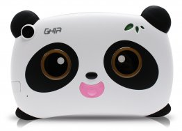 "Tablet GHIA Kids Panda - Pantalla de 7"" - Quad Core 1.2 GHz - 1GB - 8GB - 2 Cámaras - Wi-Fi - Bluetooth - Android 8.1 - Ojos Cafes"
