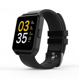 "Smart Watch GHIA - 1.54"" Touch - Bluetooth 4.0 - iOS/Android - Negro"