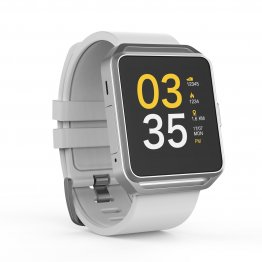 "Smart Watch GHIA - 1.54"" Touch - Bluetooth 4.0 - iOS/Android - Blanco"