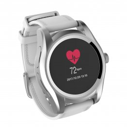 "Smart Watch GHIA Cygnus - Pantalla de 1.1"" - Touch - Bluetooth - Blanco"