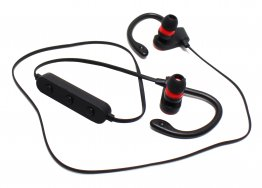 Auriculares GHIA Headphone Sport - Bluetooth - Recargables - Negro