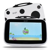 "Tablet GHIA Kids Catarina - Pantalla de 7"" - Quad Core 1.2 GHz - 1GB - 8GB - 2 Cámaras - Wi-Fi - Bluetooth - Android 8.1 - Blanco"