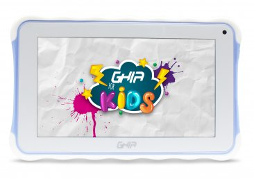 "Tablet GHIA Kids 7 TODDLER  - Pantalla de 7"" - QuadCore - 1GB - 8GB - 2 Cámaras - Bluetooth - Android 8.1 - Azul"